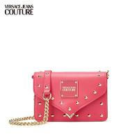 VERSACE 范思哲 Versace Jeans Couture奢侈品女包21春夏女士单肩背包 E1VWABE3-71407 ROSE-401玫红色 U
