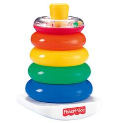 Fisher-Price 费雪 彩虹套圈 宝宝益智玩具 N824