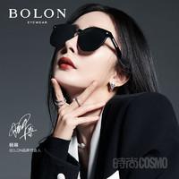 BOLON 暴龙 BOLON暴龙眼镜2021新款猫眼太阳镜杨幂同款男女个性潮墨镜BL5052 F10-灰色