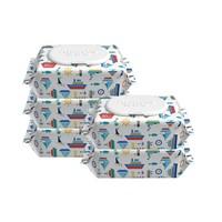 19日0点、88VIP:Anmous 安慕斯 婴儿手口专用纯水湿巾 80抽 5包