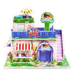 吉米兔 3d立体拼图纸质玩具 1个装