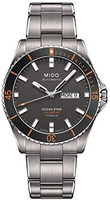 MIDO 美度 Mido Ocean Star 海洋之星 CAPTAIN V m026.430.44.061.00 灰色 / 银色钛合金模拟自动男式手表