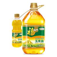 19日0点、88VIP:福临门 非转基因黄金产地玉米油  5L+700ml/桶