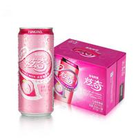 TSINGTAO 青岛啤酒 炫奇果啤水蜜桃味  11度  310ml*12罐