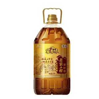 家香味 老家土榨菜籽油 5L