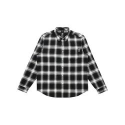 A21 R411110001 艺术家联名款 男女款式长袖格子衬衫