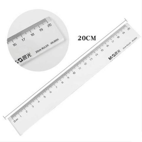 M&G 晨光  ARL96004 学生绘图直尺 20cm 1把装