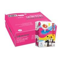 Laciate 兰雀 奥地利 酸奶常温草莓味酸牛奶  200g*24盒/箱