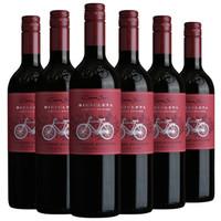PLUS会员:Cono Sur 柯诺苏西拉 柯诺苏自行车 赤霞珠干红葡萄酒 750ml*六支