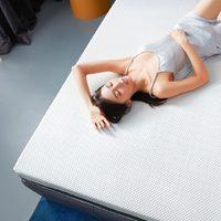 8H  Schcott天然纯乳胶床垫 100*190*3cm