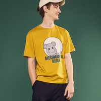 Meters bonwe 美特斯邦威 707W2017539368P 中性款短袖T恤