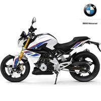BMW 宝马 宝马310R  摩托车 白色