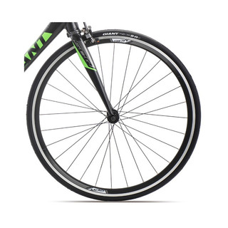 Giant捷安特SCR 2轻量铝合金16速运动健身成人变速弯把公路自行车 消光亮黑 M 建议身高176-190cm