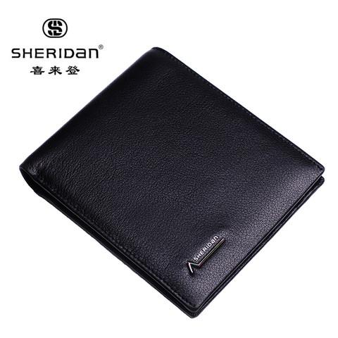 SHERIDAN 喜来登 Sheridan 头层牛皮 男士钱包 礼盒装 NL161011S