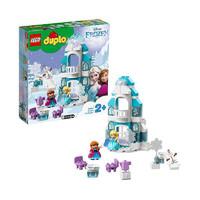 黑卡会员:LEGO 乐高  得宝系列 10899 冰雪奇缘城堡