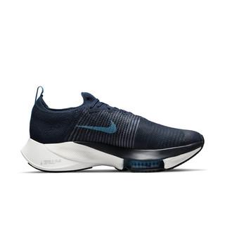 NIKE 耐克 Air Zoom Tempo Next% Fk 男子跑鞋 CI9923-401 深蓝 41