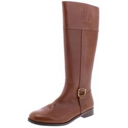 RALPH LAUREN 拉尔夫·劳伦 女士高帮舒适时尚长靴