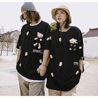 PANMAX 潘·麦克斯 X 泰迪熊联名 PBAS-TS0244 男士小熊T恤