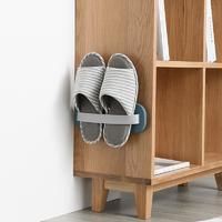 浴室拖鞋不再湿哒哒,免打孔拖鞋架