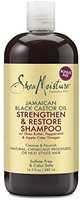 Shea Moisture  牙买加蓖麻油 强韧修护洗发水482mL
