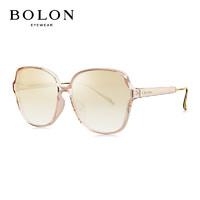 BOLON 暴龙 暴龙BOLON太阳镜女款时尚眼镜蝶形框墨镜BL5027B20