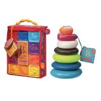 B.Toys 比乐  捏捏乐+叠叠乐套装