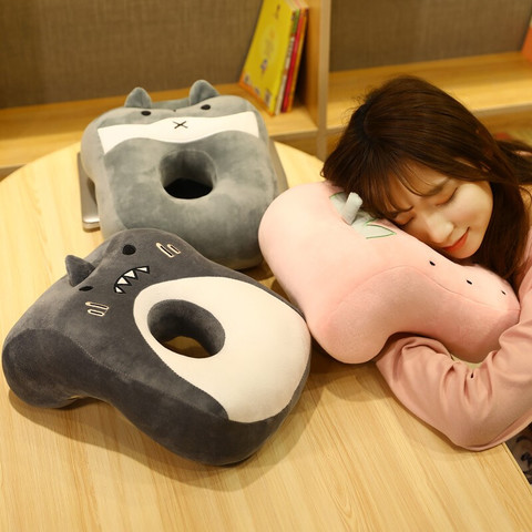 fenmeng粉萌 粉萌兔 L型儿童款午睡枕