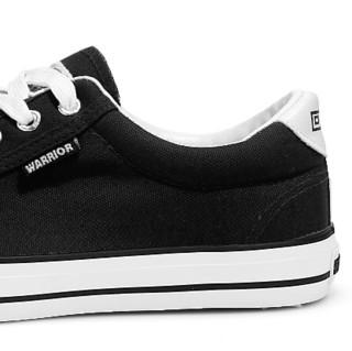 WARRIOR 回力 中性运动帆布鞋 HL0931 黑色 44  升级款
