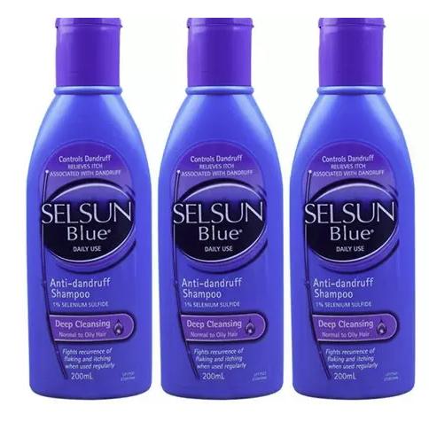 Selsun 特效去屑止痒洗发水 200ml 3瓶