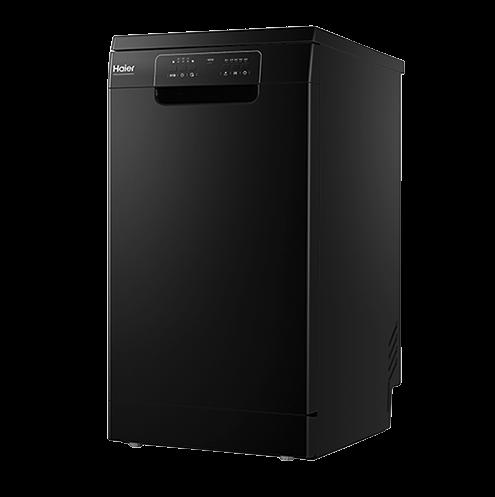 Haier 海尔 EW10028BK 独立式洗碗机 10套 黑色