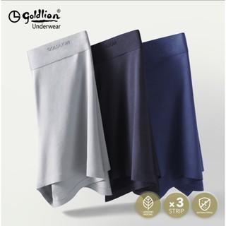 goldlion 金利来 Goldlion 金利来 GMBS12220-F 男士抗菌内裤 3条装
