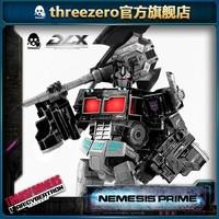 玩模总动员、新品预定:threezero & 孩之宝 DLX系列《赛博坦之战三部曲》 暗黑擎天柱 可动模型