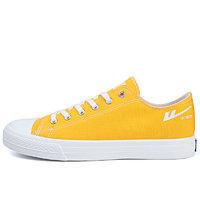 WARRIOR 回力 中性运动帆布鞋 HL0931 黄色 35 软底款