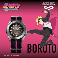 SEIKO 精工 博人传联名 博人款 SRPF65K1 机械腕表