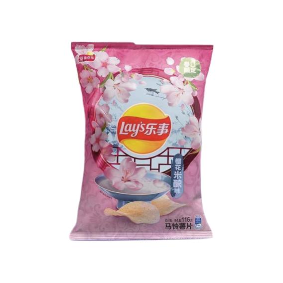 Lay's 乐事 马铃薯片 樱花米酿味
