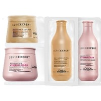 LorealPro 欧莱雅PRO 致臻洗发水+发膜+炫色洗发水+发膜
