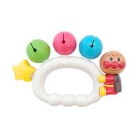 ANPANMAN 面包超人 38节: 婴幼儿摇铃鼓铃沙锤快板响板玩具