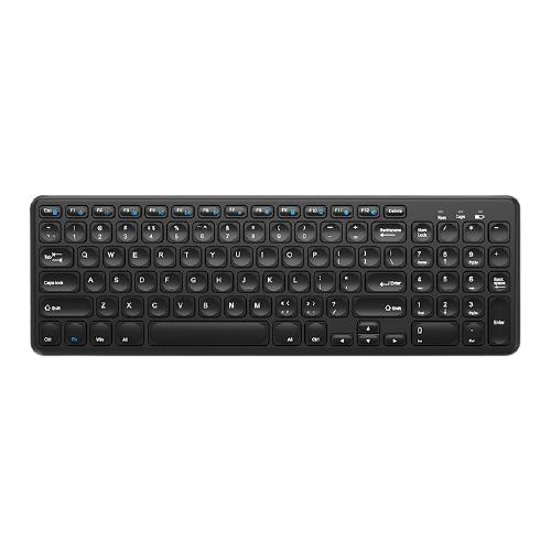B.O.W 航世  HW256C 2.4G无线薄膜键盘 黑色 无光