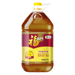 福临门 中粮非转基因纯香菜籽油 5L