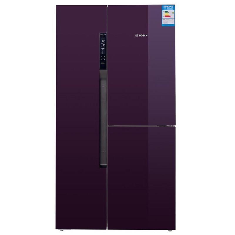 BOSCH 博世 KAF96S80TI 混冷T型对开门冰箱 569L 紫色