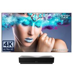 峰米 Cinema 4K激光电视 含100寸黑栅抗光屏