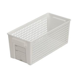 YANXUAN 网易严选 网易严选日本制造抽拉式标签收纳篮桌面整理厨房零食浴室收纳盒蓝