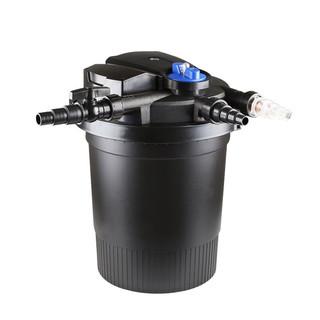 森森 鱼池过滤器水循环系统锦鲤池塘室外大型外置水池净化过滤桶 CPF-1500 2方水 单桶无水泵