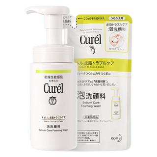 Curel 珂润 控油保湿洁颜泡沫