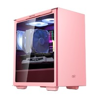DEEPCOOL 九州风神  魔方110 磁吸式电脑机箱 粉红色