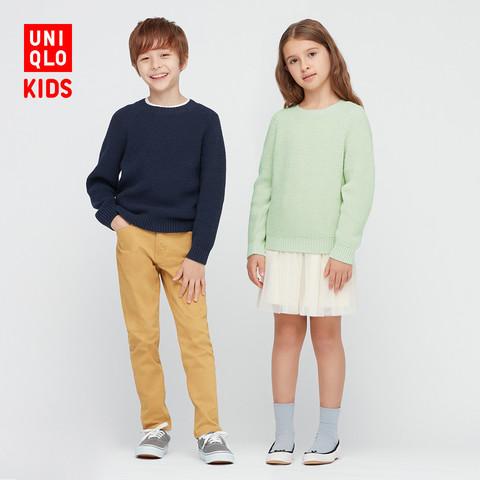 UNIQLO 优衣库 童装/男童/女童 针织衫 春夏(长袖) 436122 UNIQLO