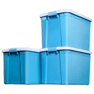 直播专享 : IRIS 爱丽思  CSB系列 CSB-50 塑料收纳箱 54L*3个 蓝色