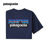 patagonia 巴塔哥尼亚 38504 情侣款休闲潮流T恤