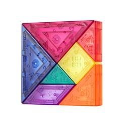 kub 可优比 可优比磁性七巧板