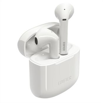 PLUS会员 : EDIFIER 漫步者 LolliPods 半入耳式 真无线蓝牙耳机